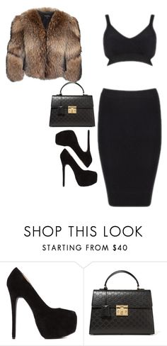 """""""Untitled #31"""" by candy347 ❤ liked on Polyvore featuring Gucci and Adrienne Landau"""