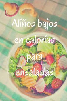 Aliños bajos en calorías para ensaladas http://blgs.co/KO82Vx