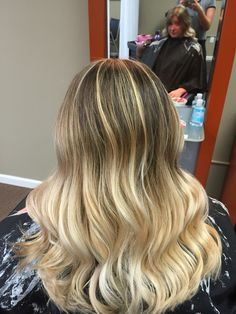 Blended ombre done by me
