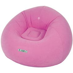 Bean Bag Chair Upholstery: Flamingo Pink - http://delanico.com/bean-bag-chairs/bean-bag-chair-upholstery-flamingo-pink-640706458/