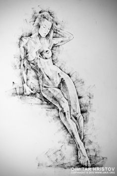 SketchBook Page 54 – Beautiful slim young woman – standing pose drawing :: 54ka abstract amazing art artist artistic artwork attractive beautiful beauty best drawing black-and-white body breasts calf care caucasian contour curve decorative delicate doodle