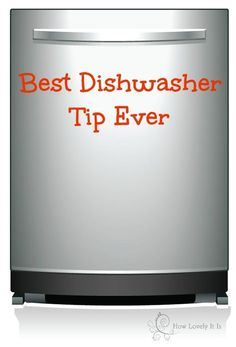 """Best dishwasher tip ever: one level TBSP of citric acid divided between soap compartments along with a regular dish washer soap block thingy ~ VOILA! Spotless dishes every time. Get citric acid in bulk at a whole foods store """")"""