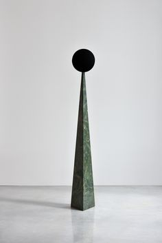 Available for sale from Orekhov Gallery, Gregory Orekhov, Volcano Volcanic stone, colored stainless steel, 175 × 27 × 27 cm Contemporary Sculpture, Contemporary Paintings, Stone Sculpture, Volcano, Abstract Expressionism, Artsy, Vase, Moscow, Filter