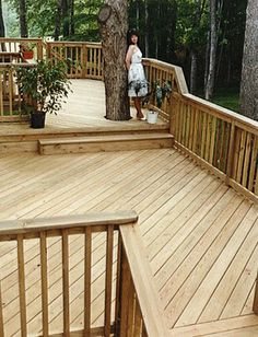 What more could attract your guests than a beautiful wooden deck designs? Make the most out of the backyard space of your home with unique pergola or wooden deck designs. Contact Total Fence Inc for a free site visit and book your own deck design. We are specialized in designing wooden deck and have undertaken so many projects.