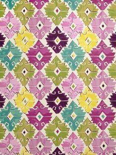 Fabricut Fabric Cavallon-Mulberry $38.50 price per yard #trends #colors #bright #interiors