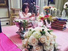 12822392_102244893503885_15174923_n Princess Hours Thailand, Princess House, Floral Wreath, Table Decorations, Celebrities, Fanfiction, Celebs, Foreign Celebrities, Flower Garlands