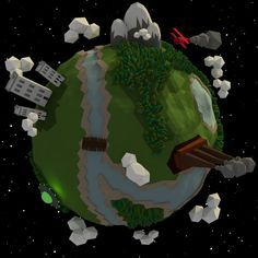Low Poly Earth by on DeviantArt Low Poly, Vector Art, Planets, Earth, Deviantart, Mother Goddess, World, The World
