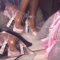Free, fast shipping on Holy Revelation Platform Heels at Dolls Kill, an online boutique for kawaii fashion. Shop Sugar Thrillz clothing, shoes, & accessories here. Boujee Aesthetic, Bad Girl Aesthetic, Aesthetic Collage, Aesthetic Vintage, Aesthetic Fashion, Aesthetic Pictures, Aesthetic Clothes, Baby Pink Aesthetic, Makeup Aesthetic