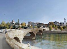 Pont Neuf Aarau Most Beautiful Cities, Christ, Bridge, Construction, City, Places, Kanton, Aphasia, Switzerland