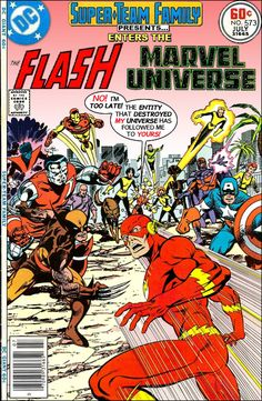 Super-Team Family: The Lost Issues!: The Flash Enters The Marvel Universe