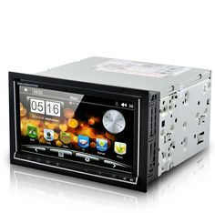 "Road Cyborg - 6.95"" Dual OS Car DVD Player (Android 2.3 + WIN CE, 3G + WiFi, GPS)"