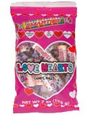 Favorite Valentine's candy...bigger than a regular Smartie with a nice powdery texture. Delicious!