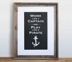 this is supposed to be for a little boy's room, but i think this is good for a life mantra