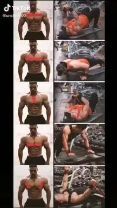 Full Body Dumbbell Workout, Body Workout At Home, Gym Workout Videos, Gym Workout For Beginners, Biceps Workout, Gym Workouts, Best Chest Workout, Chest Workouts, Weight Training Workouts