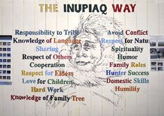 The Inupiaq Way...Inupiaq cultural values that continue to be the foundation of our way of life.