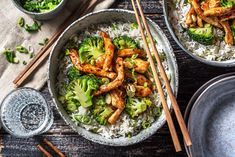 Browse over 2500 delicious and quick recipes developed by our expert chefs and guaranteed to please every meat-lover, veg-head, cool kid, and busy parent. Quick Recipes, Pork Recipes, Cooking Recipes, Healthy Recipes, Healthy Food, Peking Pork Recipe, Fried Broccoli, Hello Fresh Recipes