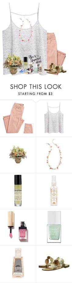 """""""Sparkle & shine"""" by livnewell ❤ liked on Polyvore featuring MANGO, Jayson Home, Le Labo, The Honest Company, Yves Saint Laurent, WALL, The Hand & Foot Spa, Topshop and Jack Rogers"""