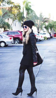 winter style blogger