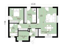 case mici moderne cu un singur nivel Small modern single level houses 9