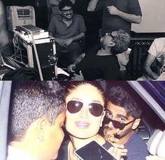 Exclusive! Arjun And Kareena Kapoor Khan Shoot for Ki and Ka!