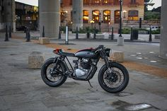 Honda CB 350 Fox Cafè Racer Project by Cognito Moto