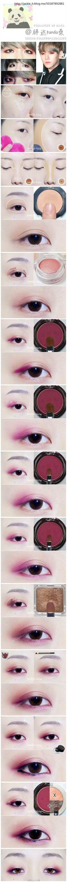 EXO's Baekhyun inspired eye make-up~