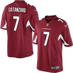 Limited Carson Palmer Mens Jersey - Arizona Cardinals 3 Home Red Nike NFL f7371d856