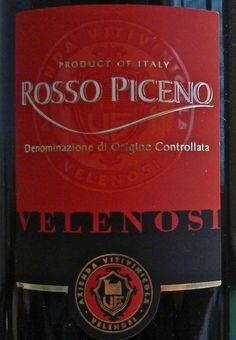 Good Le Marche Wines: Velenosi Rosso PicenoDOC