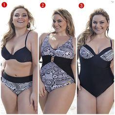moda praia plus size 1
