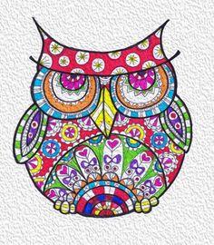 owl by Scarlet Bonnita