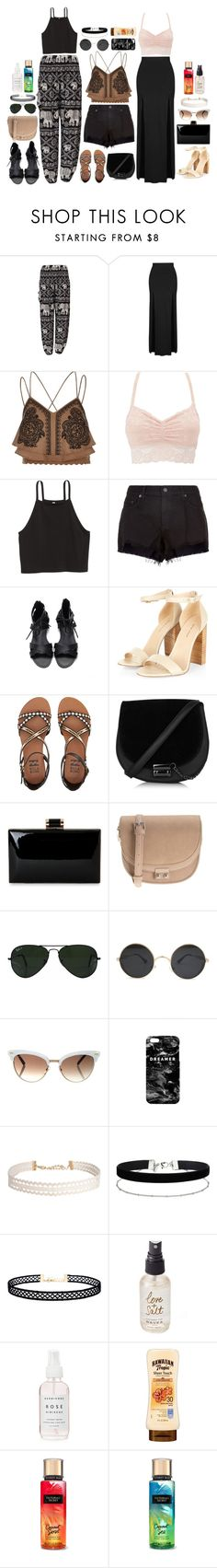 """""""Mix and Match: Light and breezy summer."""" by beckythehobbit on Polyvore featuring Topshop, River Island, Charlotte Russe, rag & bone, Billabong, Parfois, Ray-Ban, Gucci, Mr. Gugu & Miss Go and Humble Chic"""