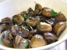 Italian Mushrooms