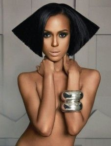 Kerry Washington is the lead female actress in Django Unchained.