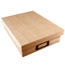 This ready-to-finish box is ideal for storing small objects, letters, papers or other items. Use the metal label holder to describe the box& contents. Easy Woodworking Ideas, Woodworking Tools For Sale, Woodworking Furniture, Custom Woodworking, Wood Furniture, Woodworking Projects, Diy Projects, Best Table Saw, Table Saw Stand