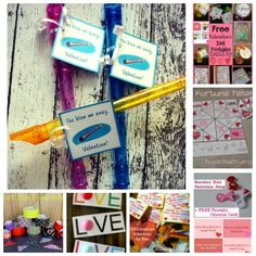 Great alternatives to store bought Valentines. Get crafty with your kids with these DIY options!