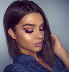 instagram: exteriorglam she has very beautiful make-up looks
