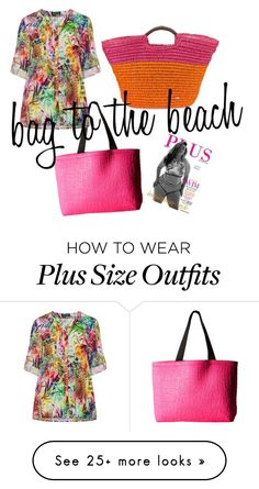 """""""bag to the beach"""" by suddenlyham on Polyvore featuring Fox, Verpass, Cappelli and beachtotes"""