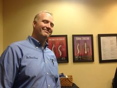 Dr. Chris Chase, of Advanced Chiropractic in West Hartford. Credit: Gary Jeanfaivre