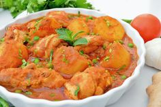 water 1/3 cup Fried onions for garnish 1/3 cup chopped coriander for garnish Directions: Best Chicken Curry Recipe, Chicken Recipes, Mauritian Food, Fried Onions, Curry Recipes, Coriander, Stew, Shrimp, Fries