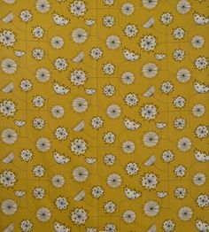 Dandelion Mobile Fabric by MissPrint | Jane Clayton