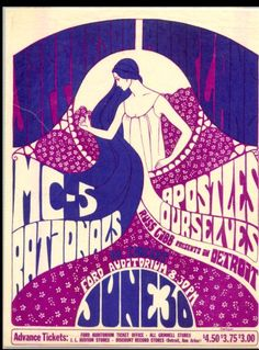 Jefferson Airplane, MC5 and the Rationals in Detroit, 1967