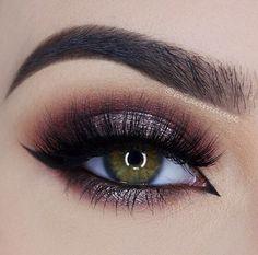10 heißesten Smokey Eye Make-up-Ideen 2019 - Prom Makeup Looks Dramatic Eye Makeup, Dramatic Eyes, Eye Makeup Tips, Makeup Goals, Beauty Makeup, Makeup Ideas, Makeup Tutorials, Makeup Geek, Makeup Emoji