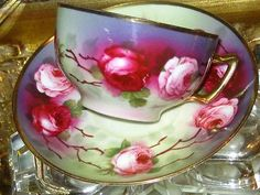 Royal Austria tea cup and saucer