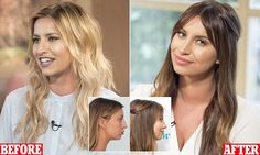 Ferne McCann reveals new nose on This Morning