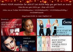 #AVONBeBeautiful What's your #resolution for 2015? Let #AVON help you get back on track!