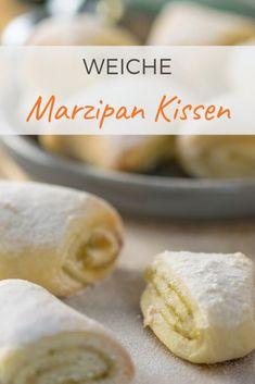 Super lecker und herrlich mürbe - Pistazien Marzipan Kissen