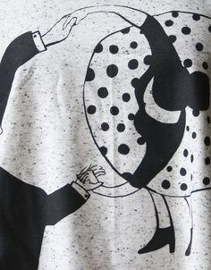TOP BAWEŁNIANY POTAŃCÓWKA - DwieLeweRece - Koszulki bez rękawów