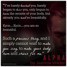 Alpha by Jasinda Wilder ★★★★★ CERTIFIED FAVORITE  http://smutbookclub.com/books/alpha-jasinda-wilder/