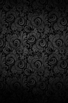 Vector background template wallpaper pattern for Schwarze mustertapete