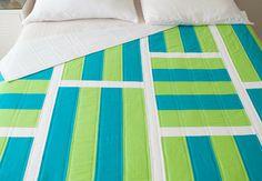 Mod Stripes Quilt Top - Creativebug